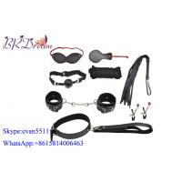 Buy cheap Adult Sex Fetishism Fantasy Bondage Restraints / Under Bed Bondage 7 Pieces Black Sex Toys product