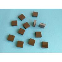 Buy cheap Tips Square PCD Cutting Tool Blanks Diamond And Tungsten Carbide Brazed product