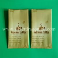 Buy cheap 250 gram coffee middle sealed coffee bags with side gusset product