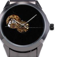 Buy cheap Transparent Auto Mens Wrist Watches Mechanical With Stainless steel Case product