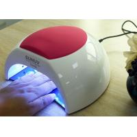 Buy cheap Unique Low Heat Led Gel Nail Lamp , Electric Infrared Gel Nail Machine 365 + 405nm product