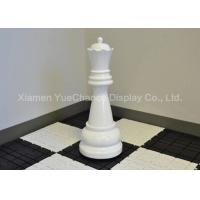 Buy cheap Durable Big Size Christmas Window Decoration Fiberglass Chess Piece Queen product