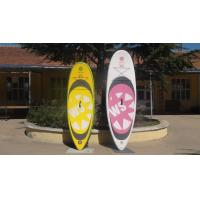 Buy cheap Big Width Inflatable Paddle Board For Kids , 8 Feet Long 4 Inch Thickness SUP Paddle Boards product
