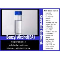 Buy cheap Pharma Grade Muscle Gain Steroids Solvent Benzyl Alcohol (BA) For Steroid Liquid Homebraw product