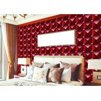 Buy cheap 3D Effect Modern Removable wallpaper popular For House Wall , square modern from wholesalers