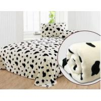 Buy cheap Customized Printing Polar Personalized No Sew Fleece Blanket for Airplane , Home , Hotel product