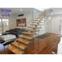 Buy cheap Australia Standard Wood Glass Staircase product