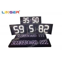 Buy cheap Polo Sport Electronic LED Scoreboard in white color with Electronic Led Team Name from wholesalers