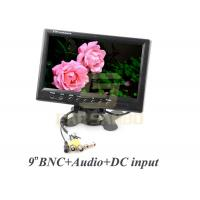 BNC Connector Car LCD Monitor 9 inch With Headrest Mount Frame