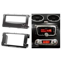 Buy cheap Radio Fascia 4 Ford Focus Kuga Mondeo S-max Trim Install Kit 08-001 product