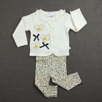 China Simple Design Infant Baby Clothes Casual Style Soft Textile Newborn Baby Girl Gift Set on sale