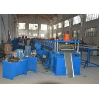 Buy cheap Hydraulic Bending Storage Rack Shelving Making Machine with Cutting Cr12Mov product