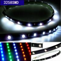 Buy cheap Wholesale 30cm 15LED 3528SMD car led lights strip decorative waterproof interior underdash lighting white red blue yello product