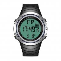 Buy cheap Interchangeable Bezel Silicone Sports Watch , Backlight Lcd Digital Watch from wholesalers