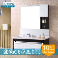Quality wall mounted makeup PVC bathroom cabinet vanity for sale