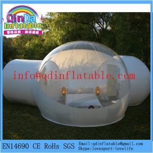 Buy cheap QinDaの販売の透明なテントのための膨脹可能な屋外のキャンプの泡テント product
