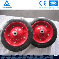 China Durable Solid Rubber Wheel for South Africa Wheelbarrow on sale