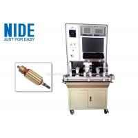 Buy cheap Automatic Vacuum Cleaner Motor Test Equipment / Armature Testing Machine product