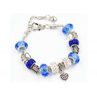 Buy cheap Imitation Pandora Colored Glaze Crafts Matched With Metal Bracelet product