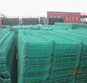 Buy cheap Welded wire mesh Garden fence,Plastic garden fence,PVC Coated Welded Wire Mesh Fence product