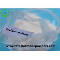 China 100.1% Pharmaceutical Raw powder Enalapril maleate to treat high blood pressure on sale
