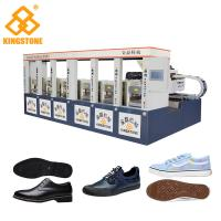 Buy cheap Automatic Rubber Sole Injection Molding Machine For Winter Boots Men Sports Shoes product