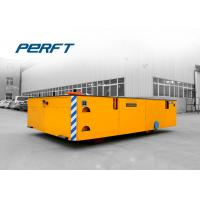 Buy cheap 25 ton transfer cart battery powered large table trackless transfer car product