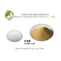 Buy cheap Natural health product ingredient Ferulic acid 98%HPLC supply by China product