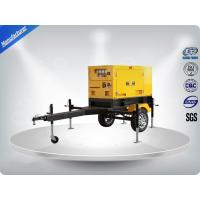 Buy cheap Rental Trailer Genset 23.3:1 Compression Ratio 1500 R / Min Engine Speed product