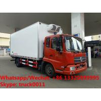 Buy cheap 2019s best price dongfeng 4*2 LHD/RHD 8-10tons refrigerated truck for sale, customized cold room truck for fruits product