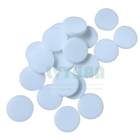 Buy cheap Plastic disc sintering PE powder tablet filter 10 50 microns sintered porous PE plastic filter product