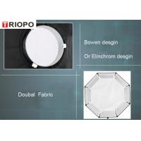 Buy cheap TRIOPO Photographic studio octagonal soft box for flash light with black and white color product