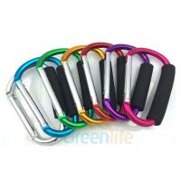 Buy cheap Big Size Aluminum Snap Hook Carabiner 12 x 140 MM With EVA Foam Holder from wholesalers