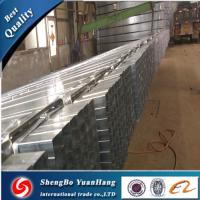 Buy cheap API ERW Square Hot Dipped Galvanized steel pipe/tube product