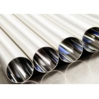 Buy cheap Anti Rust Electropolished Stainless Steel Pipe , Stainless Steel Round Tube product