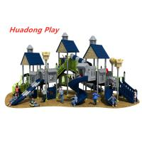 Buy cheap Villa Series Outdoor Playground Slide Include Exotic Architecture product