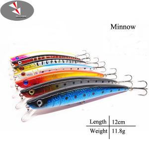 Buy cheap 120mm 11.8g熱い販売の2016年の釣魅惑OEMの製造業者の小魚釣は魅惑します product