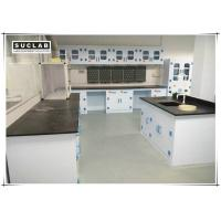 Buy cheap Epoxy Resin Countertop Science Lab Tables , PP Lab Furniture With PP Drawer product