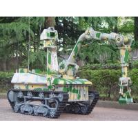 Buy cheap Security Equipment All Terrain EOD Robot Bomb Disposal Robot For Road Demining from wholesalers