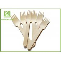 China Amazon Promotional Wooden Cultery Forks Eco Friendly Cutlery For Picnic Take-out Food wholesale