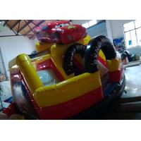 Buy cheap Toddler Playground Inflatable Bouncer Combo Air Inflated Car Jumping Bouncer Slide product