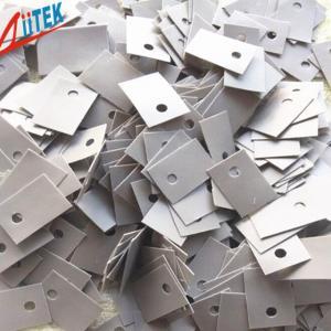 Buy cheap Unidades de control automotrices 1,0 de W/m-K del gris materiales de aislamiento termalmente con la orilla 50 una dureza TIS-109-01 product
