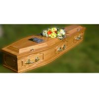 Buy cheap MDF material wooden coffins for adult , casket furniture product