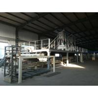 Buy cheap EPS Cement Powder And Mgo Powder Sandwich Panel Machine , Wall Panel Production Line product