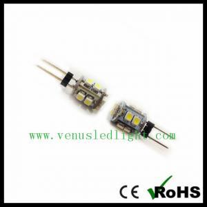 China 12V ac LED G4 Light 3528-10SMD for home crystal lighting on sale