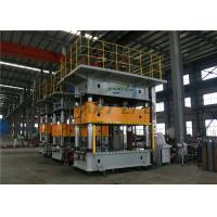 Buy cheap Four Column Hydraulic Press Machine , Hydraulic Deep Drawing Press Machine product