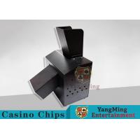 Buy cheap Black Automatic Casino Game Accessories For Cutting Off Broken Poker Cards product