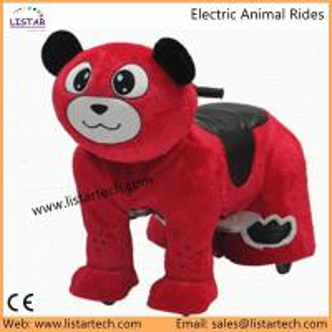 Buy cheap Kids Electric Power Ride on Motorcycle wheels Bike, Happy Trails Bear Plush Rocking Animal product
