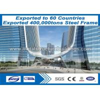 Buy cheap Economic Design Steel Frame Buildings with Professional Non - Destructive from wholesalers