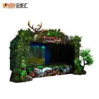 Buy cheap 4D Crazy Motion Sensing Games Hunting Game Simulator Multiple Player Support product